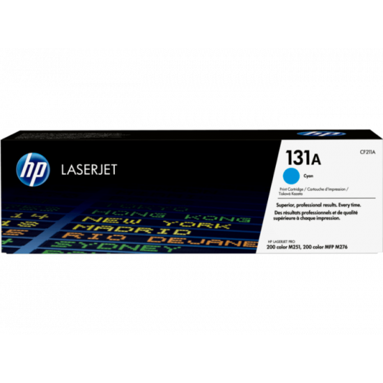 HP CF211A Cyan Toner Cartridge (131A)