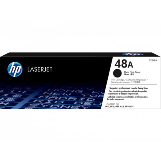 HP CF248A Black Toner Cartridge (48A)