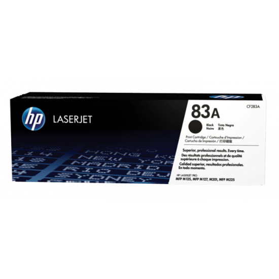 HP CF283A Black Toner Cartridge (83A)