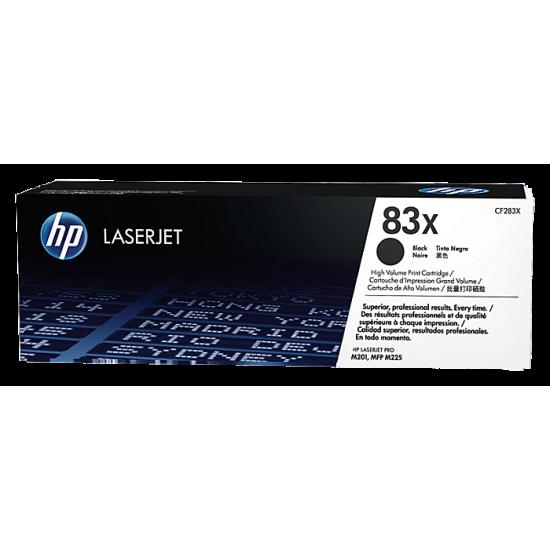 HP CF283X Black Toner Cartridge (83X)