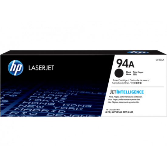 HP CF294A Black Toner Cartridge (94A)