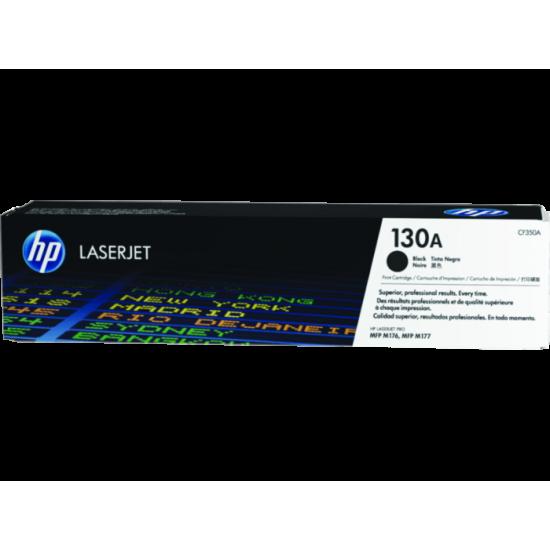 HP CF350A Black Toner Cartridge (130A)