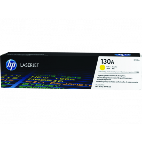 HP CF352A Yellow Toner Cartridge (130A)