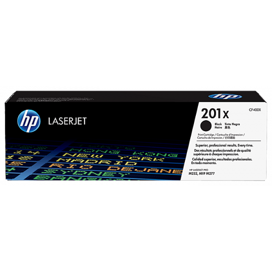 HP CF400X Black Toner Cartridge (201X)