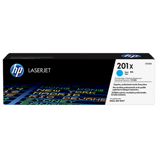 HP CF401X Cyan Toner Cartridge (201X)