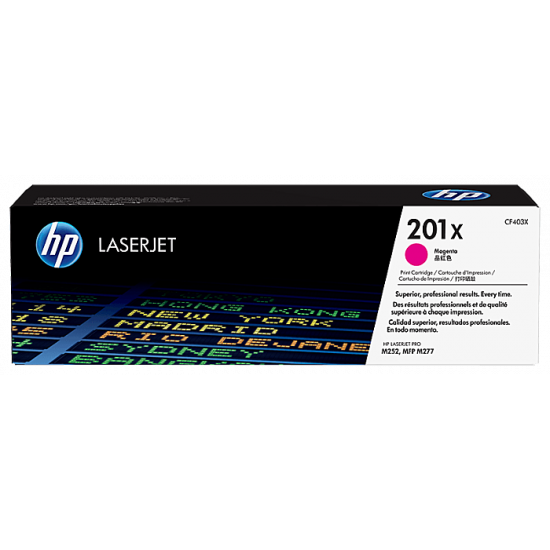 HP CF403X Magenta Toner Cartridge (201X)