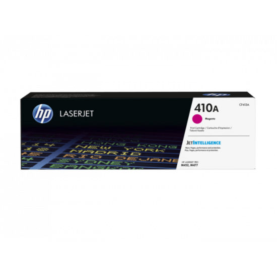 HP CF413A Magenta Toner Cartridge (410A)