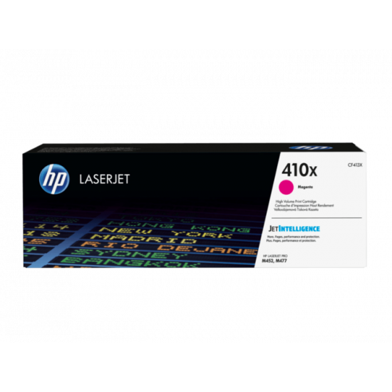 HP CF413X Magenta Toner Cartridge (410X)