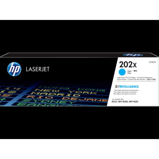 HP CF501X Cyan Toner Cartridge (202X)