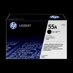 HP CE255A Black Toner Cartridge (55A)