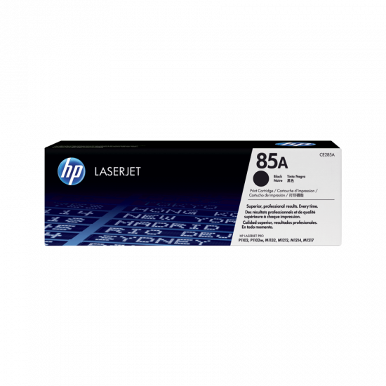 HP CE285A Black Toner Cartridge (85A)