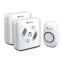 Hopewell Wireless DoorBell DB-11 (300m) with 2 Receiver