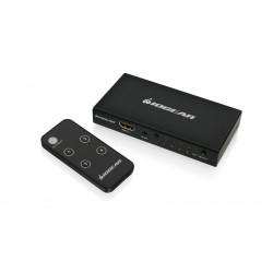 IOGEAR HDMI SWITCH 4PORTS (4K) W/REMOTE GHDSW4K4
