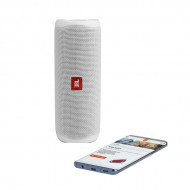 JBL FLIP 5 BLUETOOTH SPEAKER WHITE