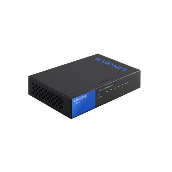 Linksys LGS105 5-Port Gigabit Switch