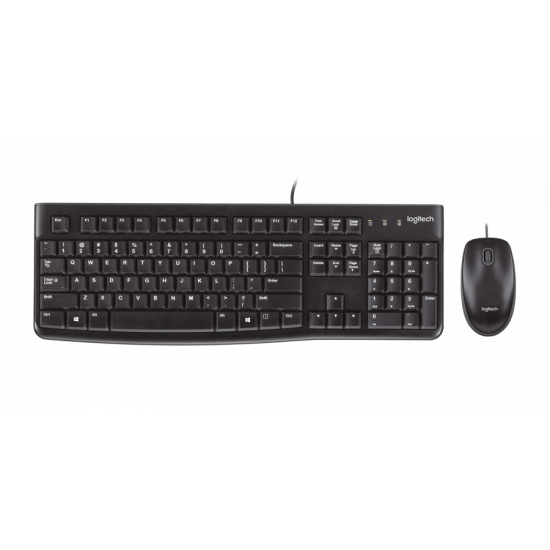 Logitech MK120 Corded Keyboard and Mouse Combo