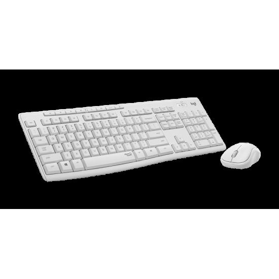 Logitech MK295 Silent Wireless Combo - white