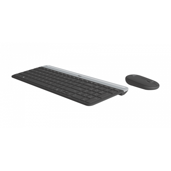 Logitech MK470 Slim Wireless Combo - graphite