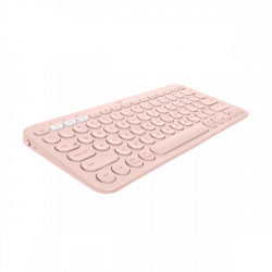 Logitech K380 Multi-device Bluetooth Keyboard Rose