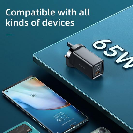 Mcdodo 3 Port 65W GaN USB Charger CH-791