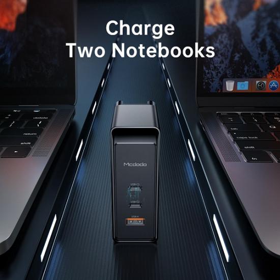 Mcdodo 3 Port 100W GaN USB Charger CH-810 Pro
