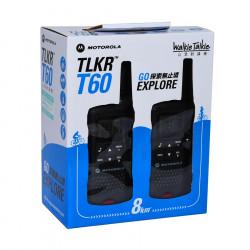 Motorola TLKR T60 Walkie Talkie (Dual Pack)