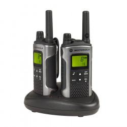 Motorola TLKR T80 Walkie Talkie (Dual Pack)