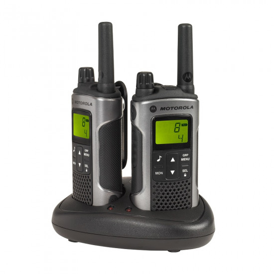 Motorola TLKR T80 Walkie Talkie (Dual Pack)