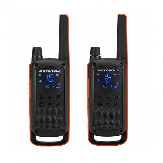 Motorola Talkabout T82 Walkie Talkie (Dual Pack)