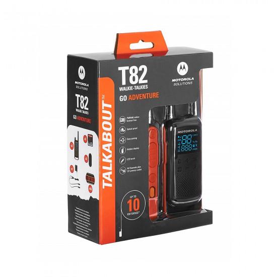 Motorola Talkabout T82 Walkie Talkie (Dual Pack)