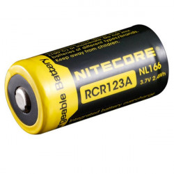 NITECORE NL166 BATTERY RCR123A