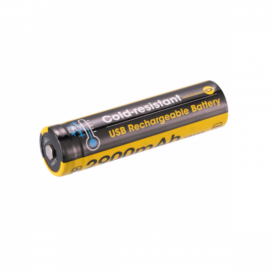 NITECORE NL1829RLTP Cold-resistant USB Rechargeable Battery