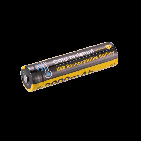 NITECORE NL1829RLTP Cold-resistant USB Rechargeable Battery