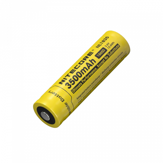 NITECORE NL1835 Rechargeable Battery 18650/3500mAh