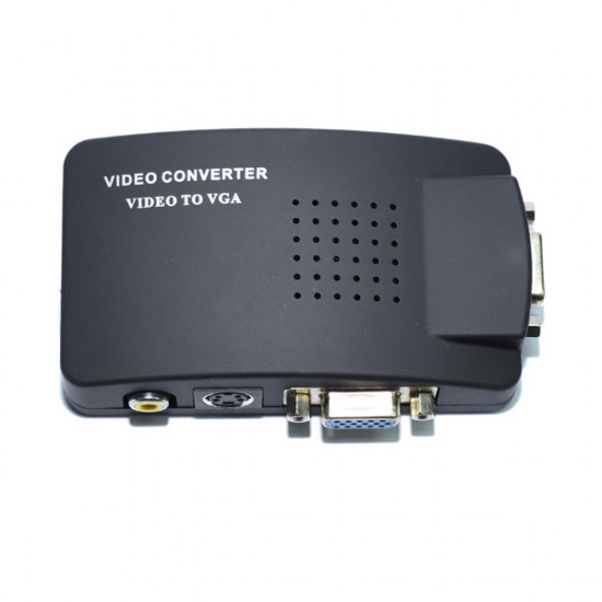 Video / S-Video to VGA Converter
