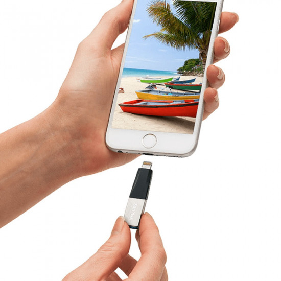 Sandisk iXpand Mini 256GB Flash Drive for iPhone and iPad