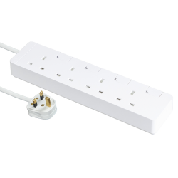 Schneider施耐德 AvatarOn Extend 4 gang Power Strips