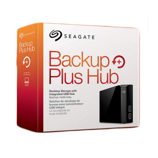 "SEAGATE BACKUP PLUS HUB 3.5"" 10TB USB3.0"