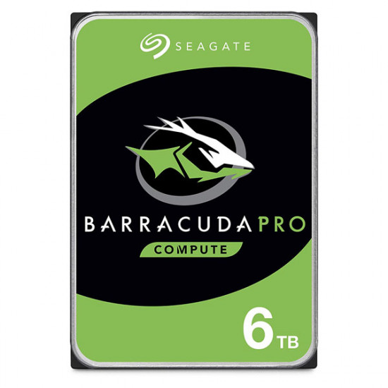 "SEAGATE Barracuda Pro 3.5"" SATA Internal Hard Disk 6TB (ST6000DM004)"