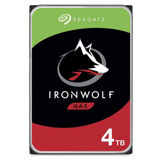 "SEAGATE Iron Wolf NAS 3.5"" SATA Internal Hard Disk 4TB (ST4000VN008)"