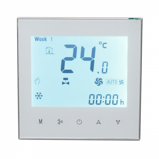 WiFi Fan Coil Thermostats Control (Smart Life App)