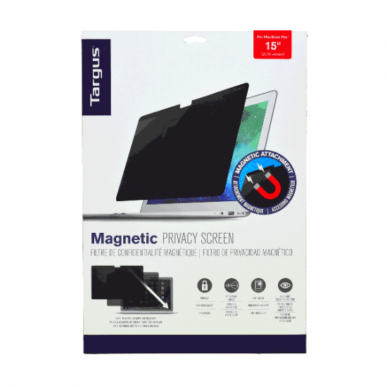 """TARGUS LCD MAGNETIC PRIVACY SCREEN For 15"""" MacBook Pro"""