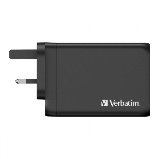 Verbatim 4 Port 130W PD 3.0 & QC 3.0 GaN USB Charger