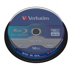 Verbatim BD-R 50GB Dual Layer 10PK