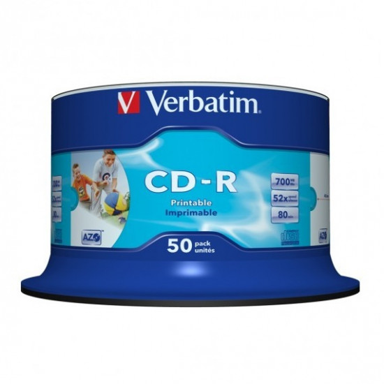 Verbatim CD-R Inkjet Printable 50PK