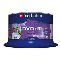 Verbatim DVD+R Inkjet Printable 50PK