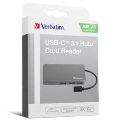 Verbatim USB-C 3.1 Hub / Card Reader