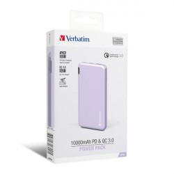 Verbatim 10000mAh PD & QC 3.0 Power Pack
