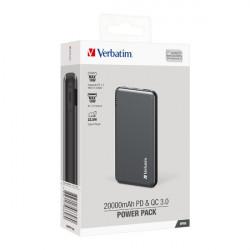 Verbatim 20000mAh PD & QC 3.0 Power Pack