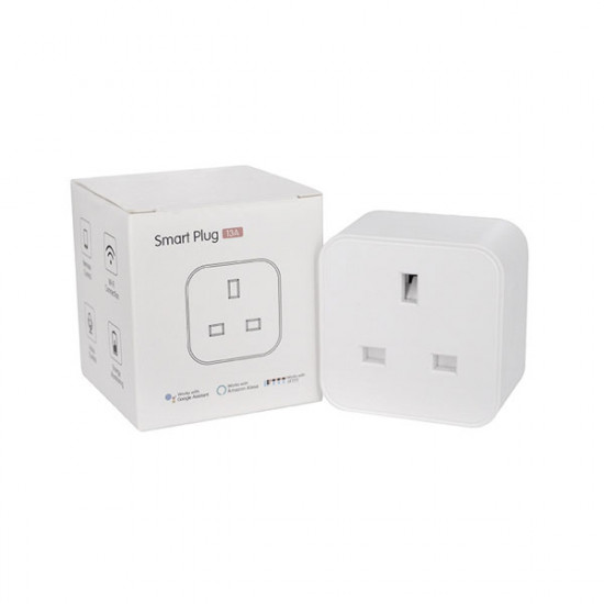 WiFi Smart Plug 13A with Energy Monitoring U3S